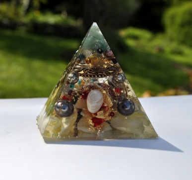5cm pyramid (side b) - £ 25